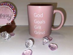 God goals Coffee mug