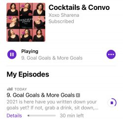 Cocktails and Convo Podcast