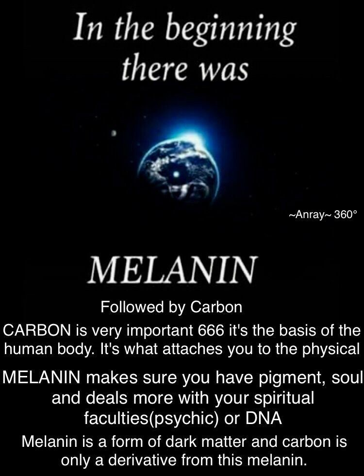 Melanin Carbon