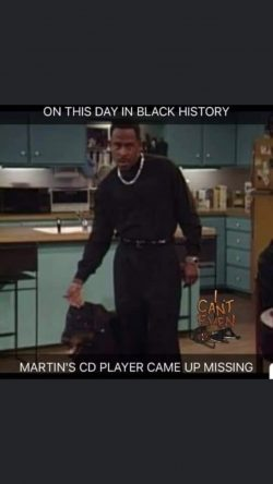 Martin wasn't playing