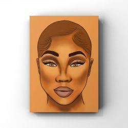 Caramel Canvas Prints