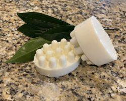 Creamy Peppermint Shampoo Bar
