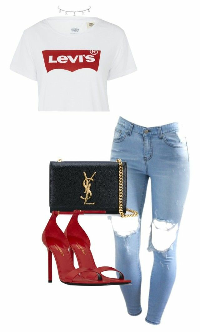 Levi's and red