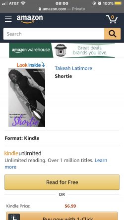Shortie is available now on Amazon