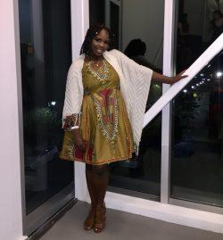 ETSY African Print Prom dress ✨