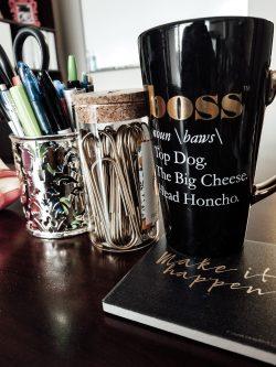 Boss Cup & Coaster