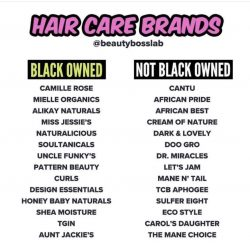 Black Owned Hair Care Businesses 🥳