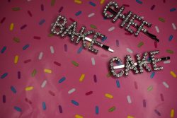 Bling hair clips