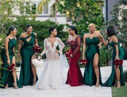 Bridal party goals 🤩