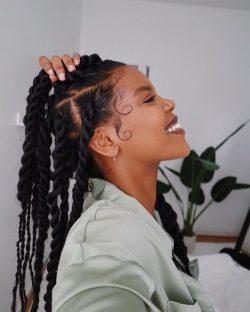 IG : hernameboo Hairstyles ❤️