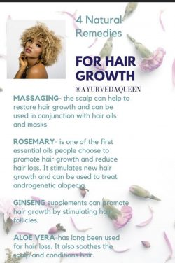 Simple home care regimen to promote healthy hair