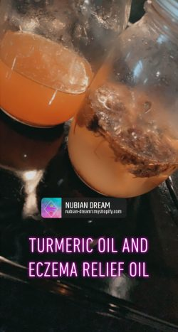 Nubian Dream Turmeric Oil & Eczema Relief Oil