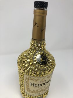 Decorated Hennessy Bottle