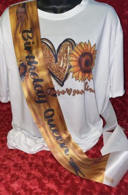 Custom Sashes For Any Occasion