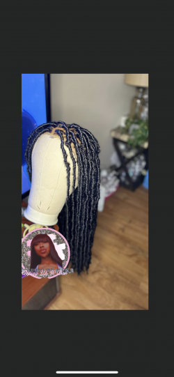 Faux Loc wig