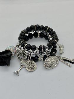 Sassy and Classy bracelet stack