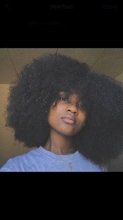 Natural Hair Black Girl Magic✨