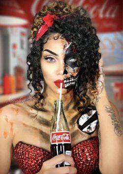 halloween makeup 🎨 zombae art🎨