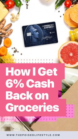 How to get 6% cash back on groceries