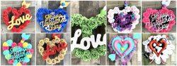 Valentine's Day Mini Wreaths