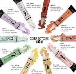 Pro Conceal Correctors 101