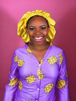 Yellow Abundance Satin Bonnet