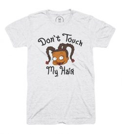 Don't touched my Hair tshirt (Rugrats)