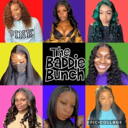 The Baddie Bunch, a bunch of slayed installs😍