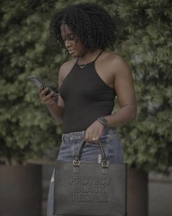 Protect Black People Tote