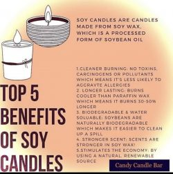 Soy Candle Benefits