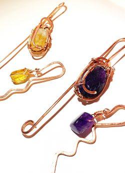 Copper Wire Bookmarks