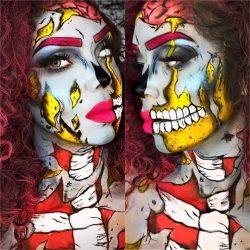 zombie, zomBae 🧟♀️ makeup art 🎨