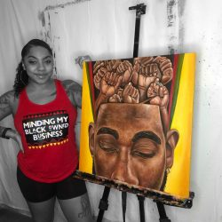 Amazing Artists ✊🏾 @Brionya James Creations