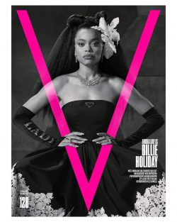 Andra Day for V Magazine Han/Feb Issue 2021