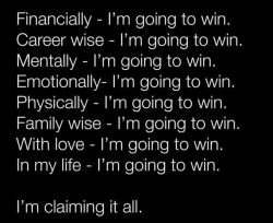 Claim Your Success!