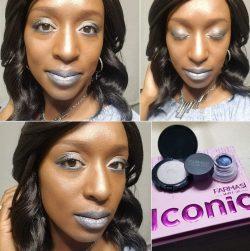 Blue & Silver Makeup | Farmasi