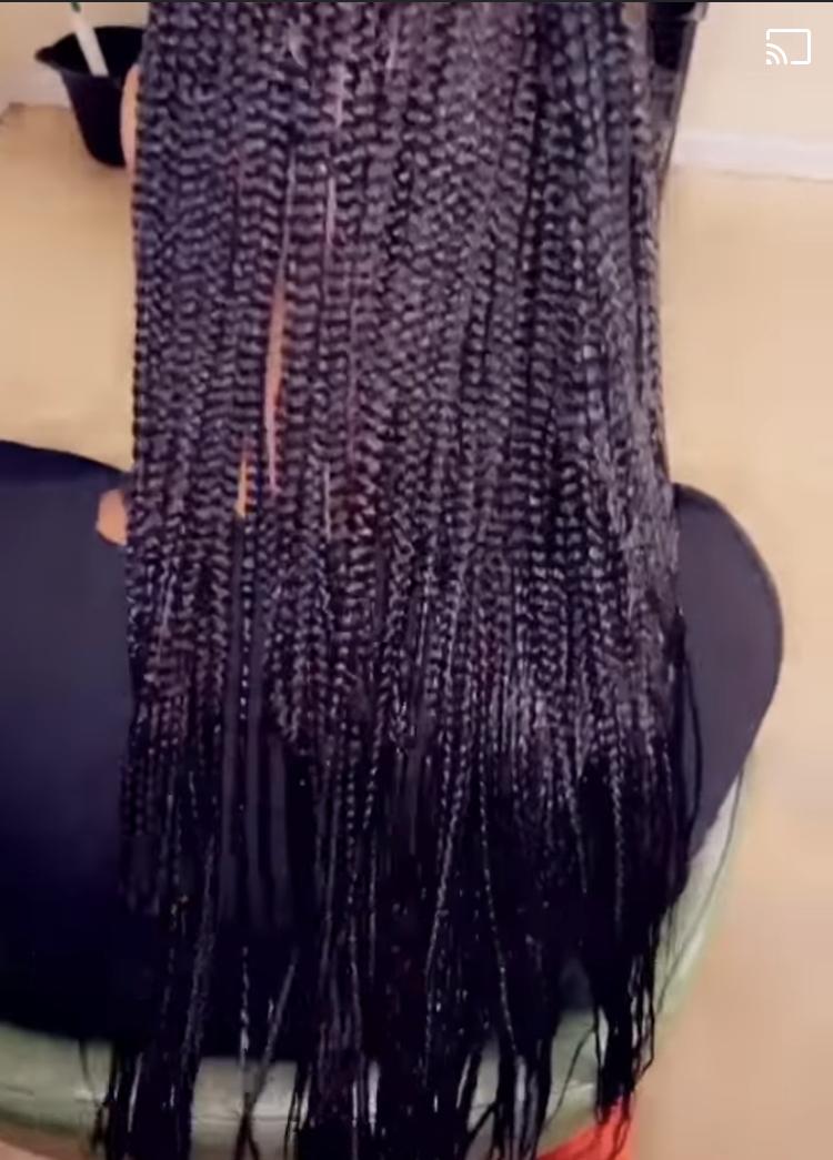 small knotless braids