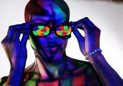 Body Paint Photoshoot | model @Rodjaii 👣