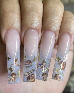 Angel Nails 👼🏾