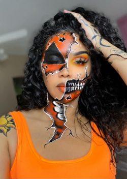 halloween makeup 🎨 art