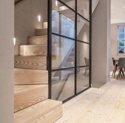 Stair, luxury home interior