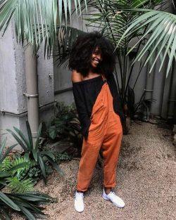 Brown | Black | Afro | Queen energy