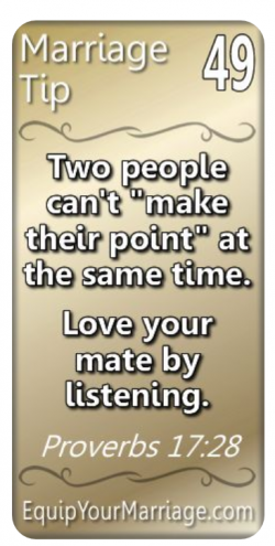 Marriage Tip #49