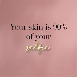 Your skin is 90% of your selfish 📷