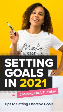 Tips to set effective goals for 2021