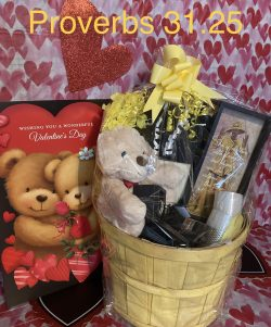 Proverbs 31.25 Basket