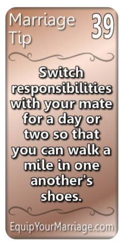 Marriage Tip #39