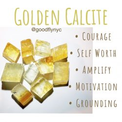 Healing Crystal Meaning: Golden Calcite