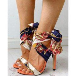 Wrap Up High Heels