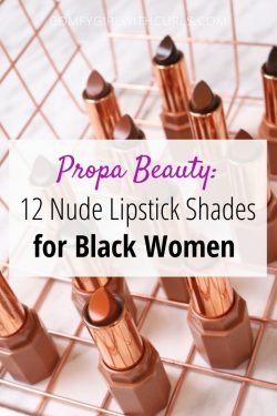 Propa Beauty Black Owned Nude Lipsticks for Women of Color